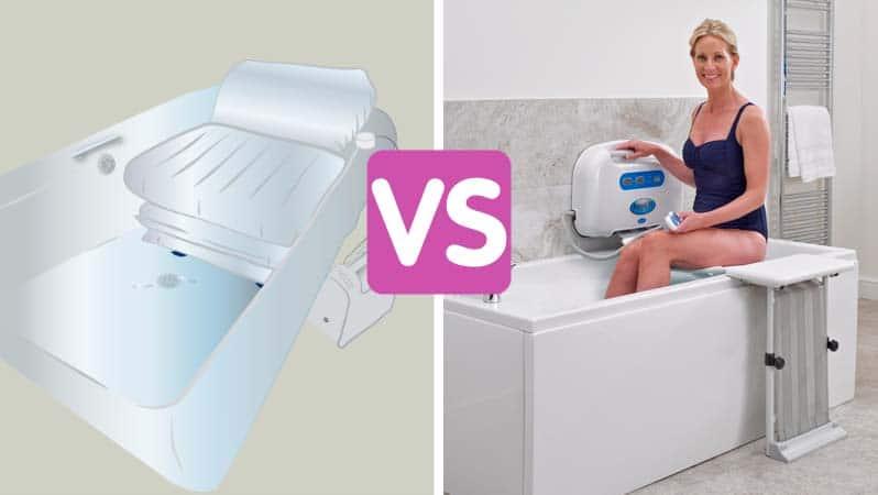 Bath lift vs bath cushion