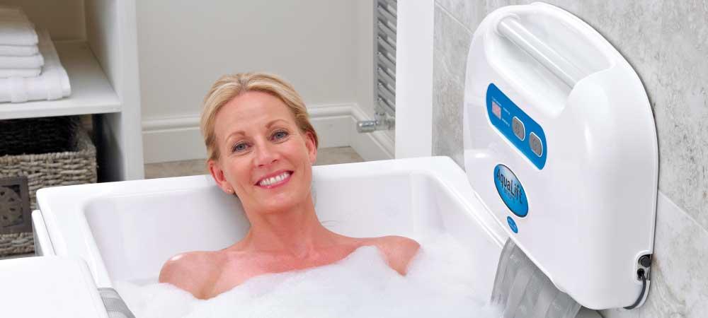 comfortable bath lift benefit