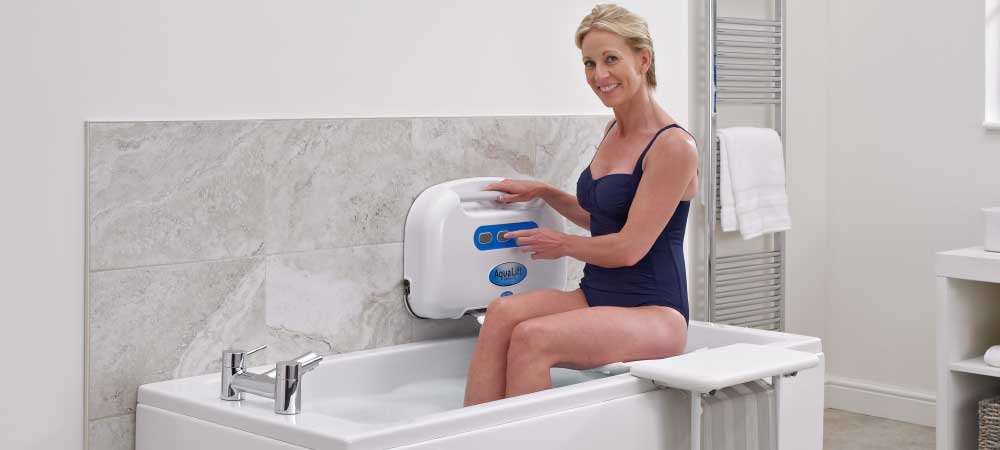 Regain your independence with a bath lift
